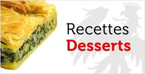 recettes desserts